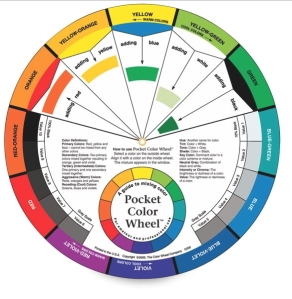 Modern Pocket Colour  Wheel!