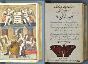 Colour Book by Dutch Artist A. Boogert 1692