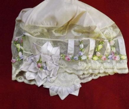 Vintage Lace Decorated Lace Cap