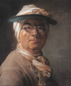 Chardin - Self Portrait 1775